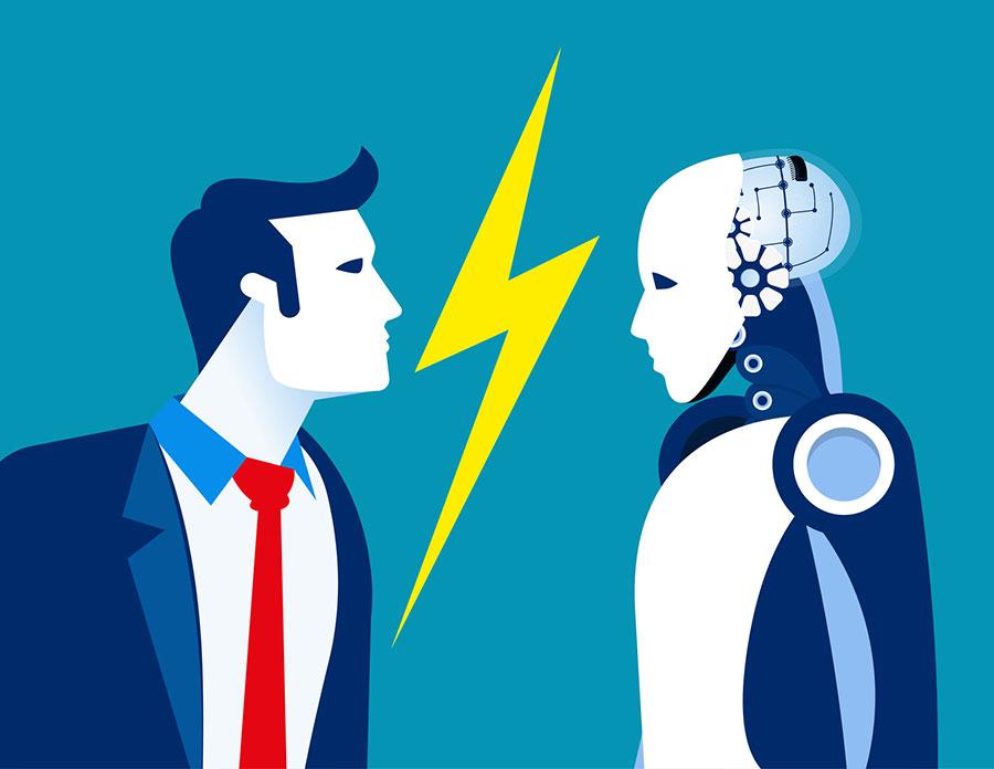 Humain VS Robot